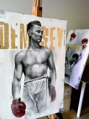 """OBRAZ """"DEMPSEY"""" Manwith Passion WORO Paweł Worobiej"""