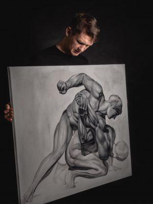 """Obraz """"PANKRACJON"""" Manwith Passion WORO Paweł Worobiej"""